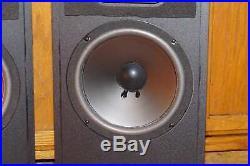 Set Of 2 Acoustic Research Tsw-310 1980 Home Audio Loud Speakers Black Walnut