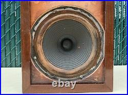 Single Speaker Classic Acoustic Research AR-1 AR1 Dual, With Altec Landing 755A