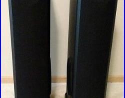 Speakers Floor Standing Vintage Pair Floorstanding AR9 Acoustic Research Black