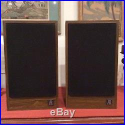 Teledyne Acoustic Research Ar18s Speakers Professionally Refoamed