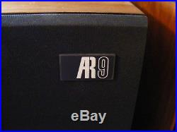 Teledyne Acoustic Research Ar9 Speakers! Awesome None Nicer! One Owner