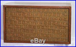 Vintage Pair Acoustic Research Ar-2 Ar2 Loudspeakers Speakers Eames Audiophile