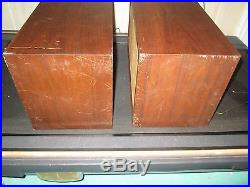 Vintage Pair Of Ar Inc. Acoustic Research Ar-4 Stereo Speakers Audiophile Work