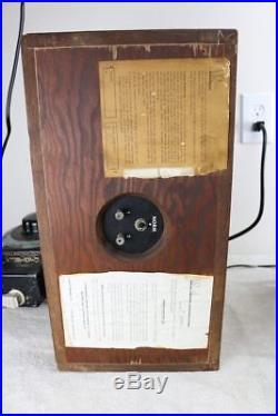 Vintage ACOUSTIC RESEARCH AR-4 SPEAKER SYSTEM All Original