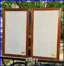 Vintage AR3a Speakers Fully Restored /w New AR Tweeter & Midrange drivers