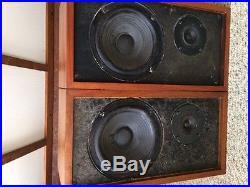 Vintage AR4X Speakers Perfect Set Original Boxes