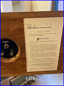 Vintage AR4 Acoustic Research Stereo Speakers RARE- 1960s ORIGINAL USA (SET)
