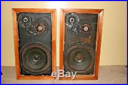 Vintage AR 3a speakers case had just been refinished