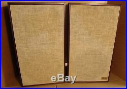 Vintage Acoustic Research AR2ax Speakers in excellent condition