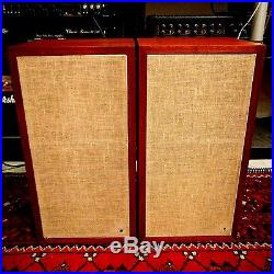Vintage Acoustic Research AR4x speakers serviced and cleaned, tested beautifully
