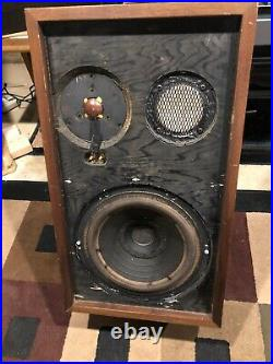 Vintage Acoustic Research AR-2AX 3-way Speakers-Restored