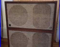 Vintage Acoustic Research AR-2ax Speakers Single Owner Estate Mid Century AR