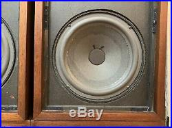 Vintage Acoustic Research AR-2ax Suspension Loudspeakers RESTORED EXCELLENT A+