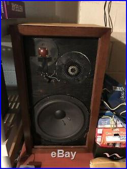 Vintage Acoustic Research AR-3 AR3 Speakers Bought New cared for/loved pair