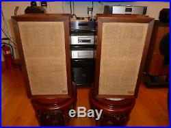Vintage Acoustic Research AR-3a Acoustic Suspension Loudspeaker System Speakers