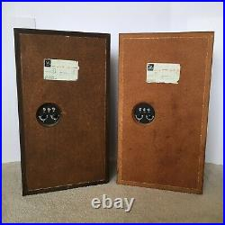 Vintage Acoustic Research AR-3a Speakers, Pickup Only, Excellent Condition