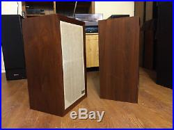 Vintage Acoustic Research AR-3a Speakers (SERVICED!)