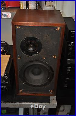 Vintage Acoustic Research AR-4X Speakers Fully Working Origional NICE