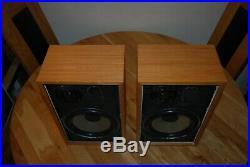 Vintage Acoustic Research AR-7 HiFi Speakers 60 W