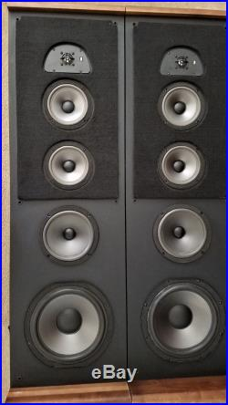 Vintage Acoustic Research Ar Tsw 910 Tower Speaker System