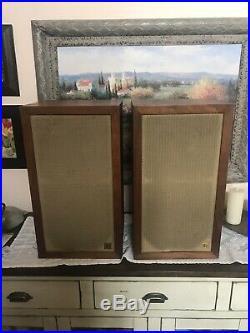 Vintage Acoustic Research Ar-3 Ar3 Suspension Loudspeakers System Speakers