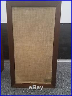 Vintage Acoustic Research amplifier, AR3a Speakers Oiled Walnut with stands