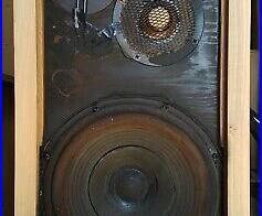 Vintage Acoustic Research one AR-3 Loudspeaker -PLUG & PLAY-