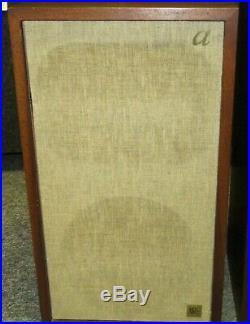 Vintage Pair ACOUSTIC RESEARCH AR-2A AR2A Speakers J0568