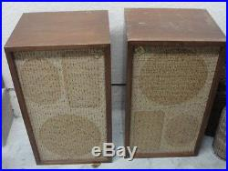 Vintage Pair Acoustic Research Speakers AR-2a Set of 2
