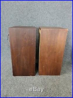 Vintage Pair Of Acoustic Research AR-4X Speakers