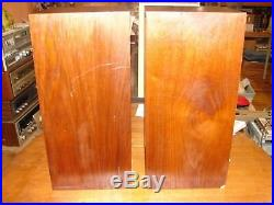 Vintage Pair of Acoustic Research AR-4X Speakers Tested