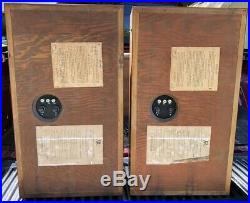 Vtg Pr AR 3 Acoustic Research Speakers Tested Clean